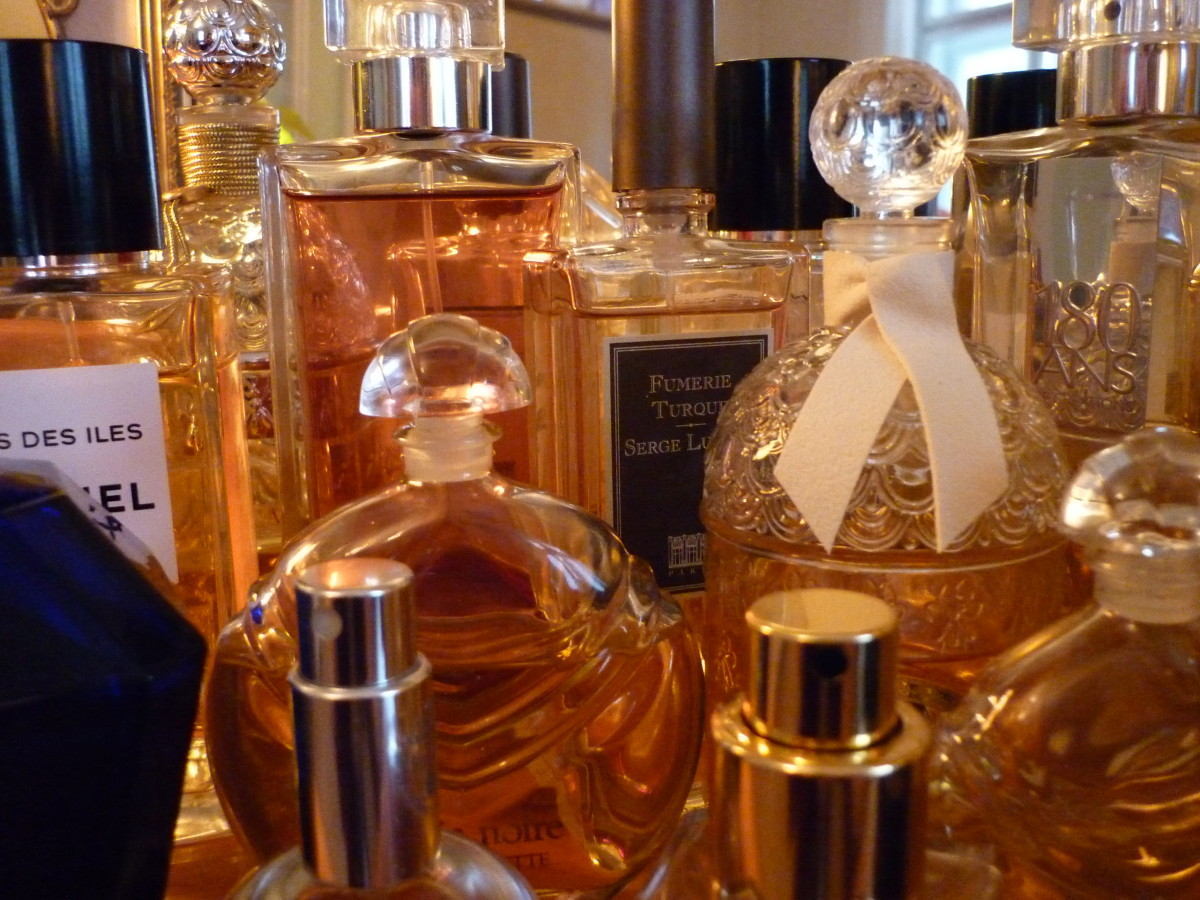 Collection parfums Guerlain Chanel Serge Lutense