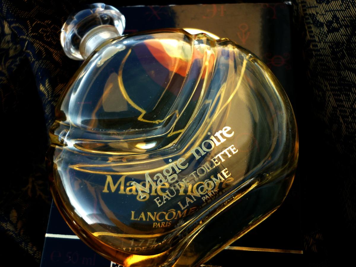 Magie Noire, Lancôme, perfume, flacon, Guerlinade