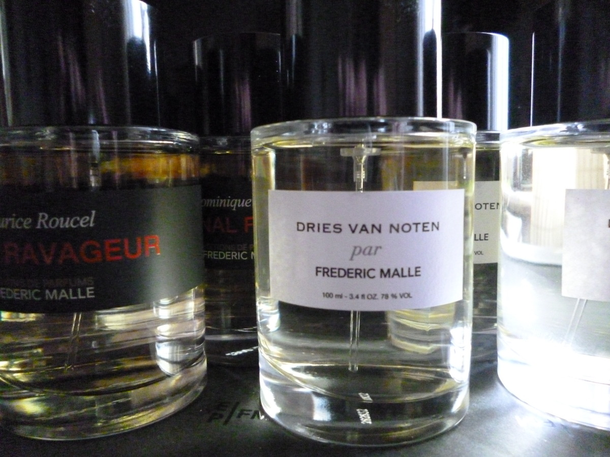 Frederic Malle Editions de Parfums Dries  van Noten flacons