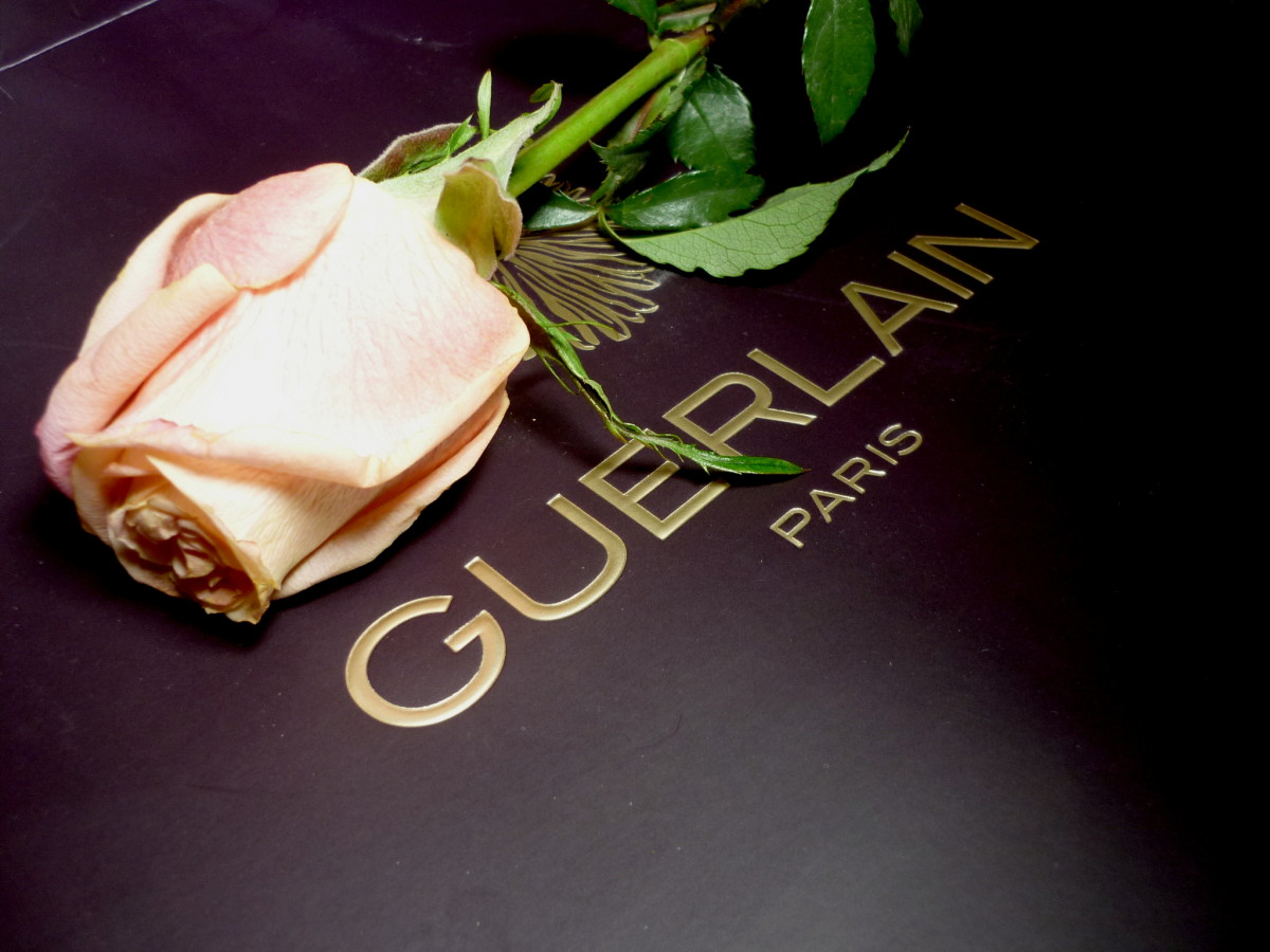 Guerlain and rose