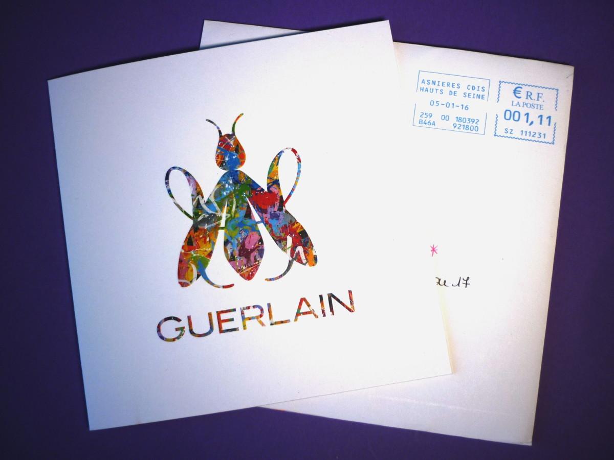 Guerlain New Year card