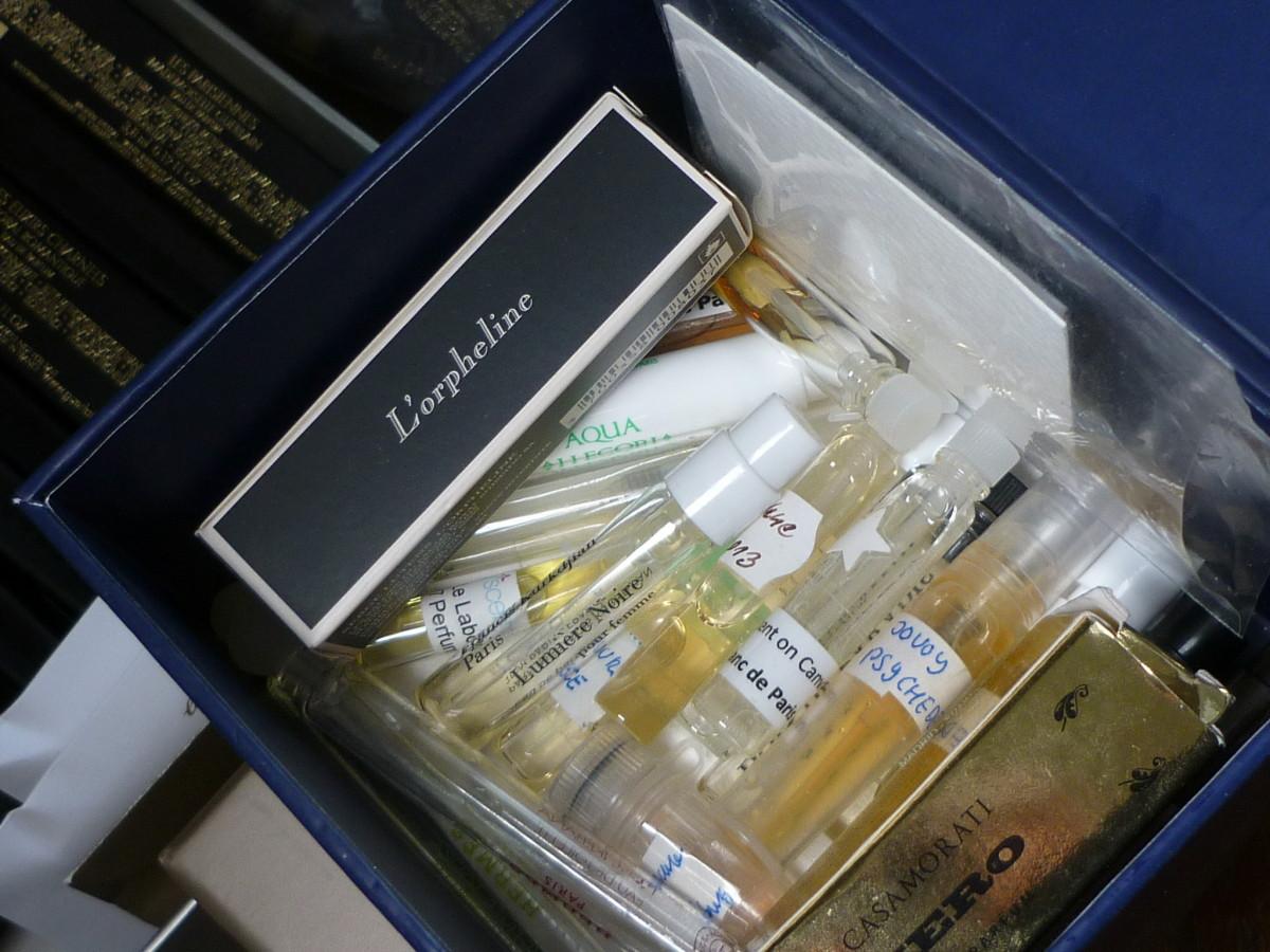 Vzorky krabička