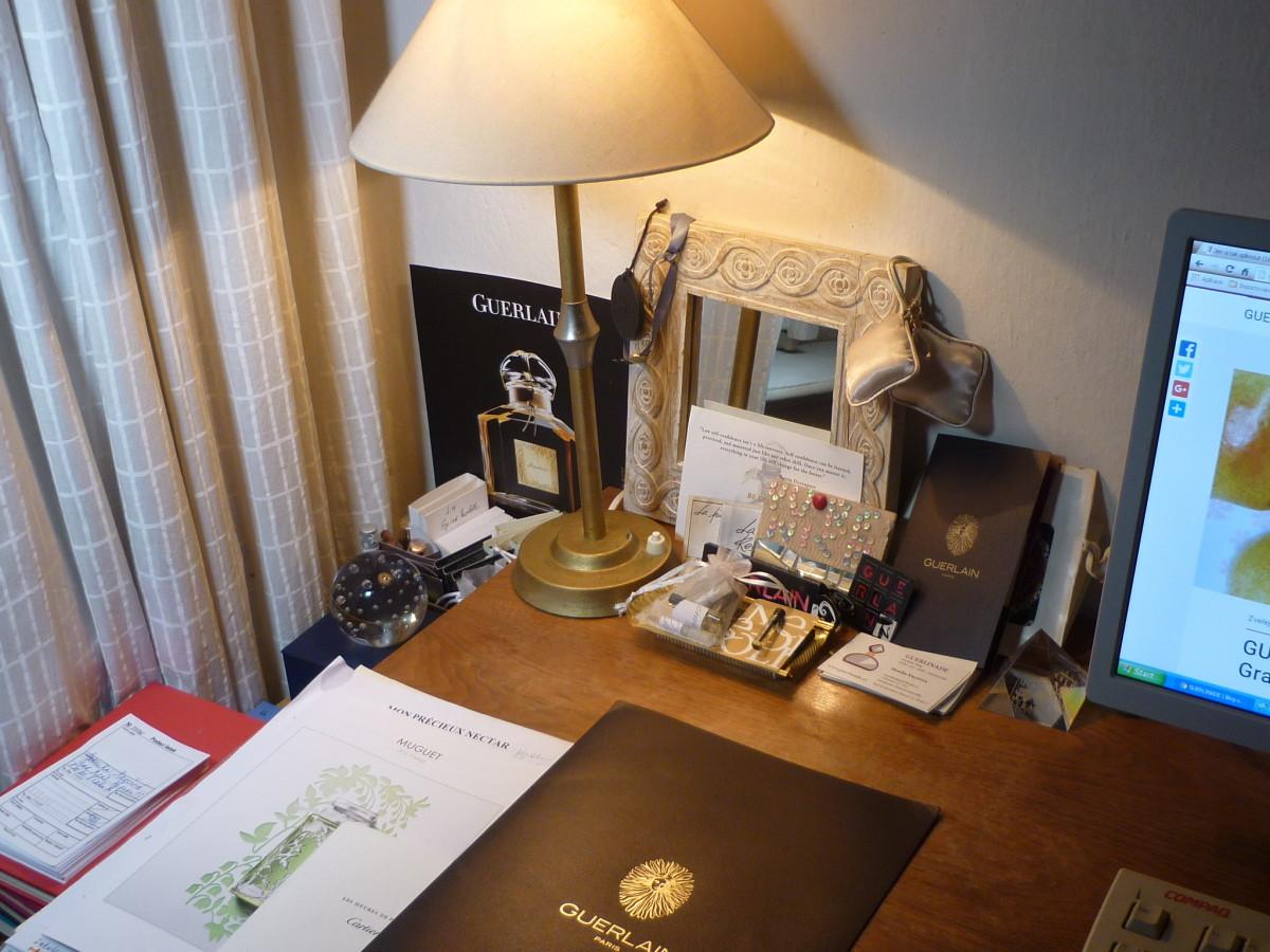 Vzorky stolek